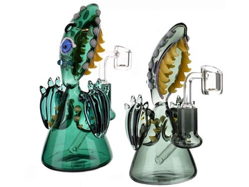 """Post Products: 6"""" Blue Eyed Seawater Goblin Dab Rig"""