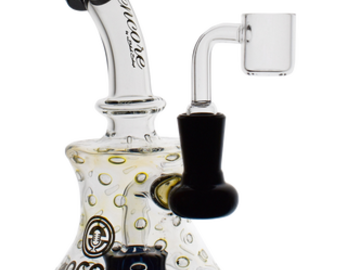 "Post Products: 7"" Mini Bubble Trap Beaker Banger Hanger Dab Rig by Encore"