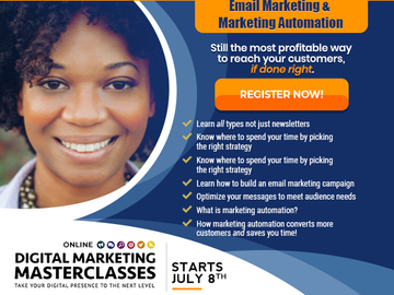 Event: Mastering Email Marketing - Online Digital Marketing Masterclass