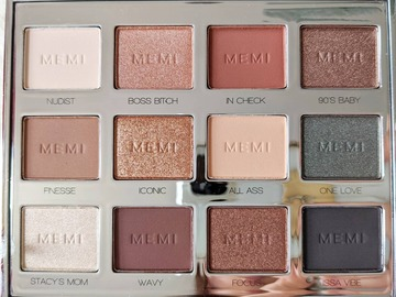 "Selling with online payment: MEMI - ""Millennial"" Eyeshadow Palette"