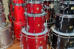 Selling with online payment: Gretsch USA Custom 4 pc kit Satin Rosewood 22, 10, 12, 16