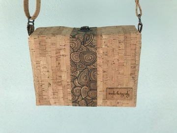 Selling with online payment: Cork Flip Top Purse