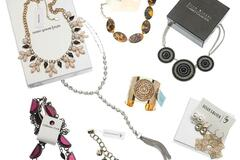 Liquidation/Wholesale Lot: 100 pieces High End Designer Name Brand Jewelry- Chico's ,QVC ect