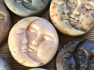 Selling with online payment: Sun/Moon Soaps