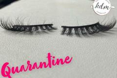 For Sale: 'Quarantine' KDM Lashes by Khyaia Diamond