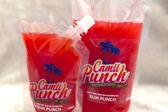 For Sale: 500ml pouch of rum punch