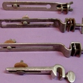 Selling with online payment: 1920-30s Bass drum cymbal hoop mount units