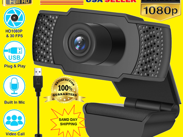 Buy Now: 20x 1080P Full HD USB Webcam Web Camera with Microphone for PC De