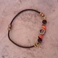 Vente au détail: Bracelet graines et minéraux