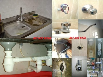 Services: tukang paip plumber 0176239476 azlan afik Taman Melewar Batu Cave
