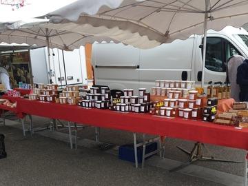 Vente avec paiement en direct: Miels et produits de la ruche