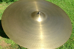 "Show Off Your Drums! (no sales): Vintage 28"" Zildjian ride cymbal    That's not a TYPO !!!"