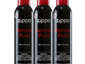 Post Products: Zippo Butane 5.82 oz. - 3 Pack