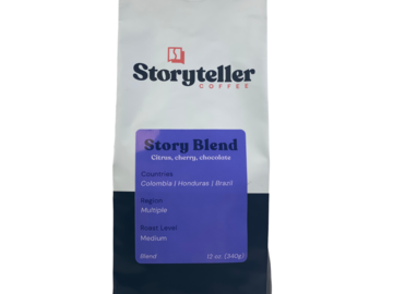 Selling with online payment: Storyteller Blend | Medium Roast | Blend