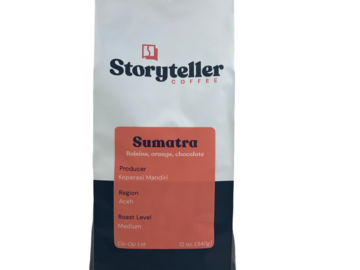 Selling with online payment: Sumatra | Medium Roast | Single Origin