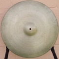 "Selling with online payment: 1960s ZILDJIAN 20"" Ride    2630 grams"