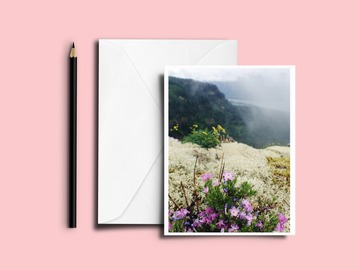 Selling with online payment: Wildflower Greeting Card