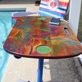 Selling with online payment: Solar Charging Beach Table / Boat / Swimming Pool - Palms