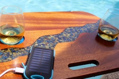 Selling with online payment: Solar Charging Beach Table  / Boat / Swimming Pool - Lapis River