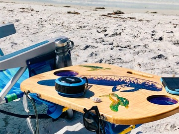 Selling with online payment: Solar Charging Beach Table - Manatee