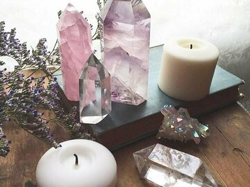 Selling: Crystal Scrying: Psychic Reading. Divination - MYSTIC ROSE