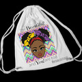 For Sale: Afrothemed drawstring bags
