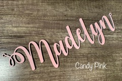 Selling with online payment: Personalized Wooden Name Sign