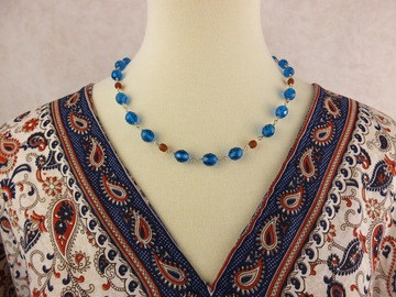 Selling with online payment: Bohemian Crystal necklace