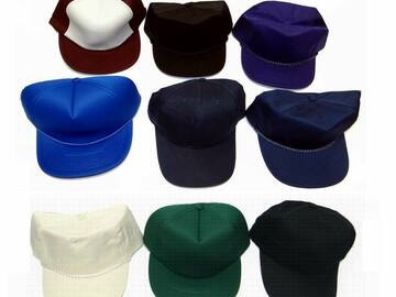 Buy Now: Assorted Caps High Quality Adjustable Blank Baseball Hats