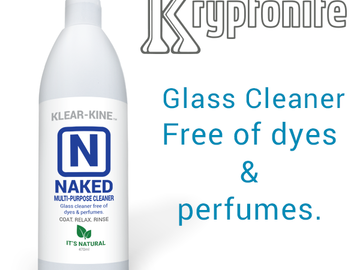 Post Products: Klear Kryptonite Naked Bong Cleaner
