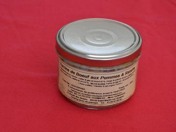 Vente avec paiement en direct: Terrine de Boeuf aux Pommes et Rataffia