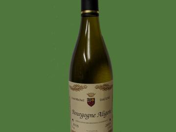 Vente avec paiement en direct: Bourgogne aligoté 2018