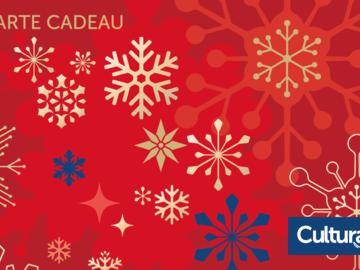Vente: Carte cadeaux Cultura (100€)