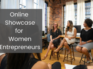Workshop: Online Showcase for Women Entrepreneurs