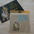 Vente: Carte postale STAR WARS R2-D2 de voeux 2016