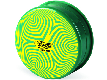 Post Now: BEAMER 3-PIECE ACRYLIC GRINDER - PSYCHEDELIC GREEN