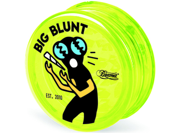 Post Now: BEAMER 3-PIECE ACRYLIC GRINDER - BIG BLUNT YELLOW