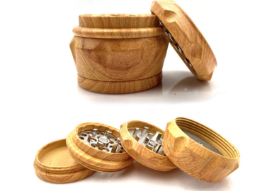 Post Products: Wooden Resin Weed Grinder 4 Layers Machine Herb