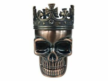 Post Products: CROWNED SKULL HERB GRINDER