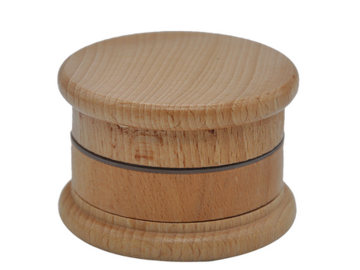 Post Products: HORNET Wooden Herb Grinder 63 MM 3 Layers Spice Herb Grinder