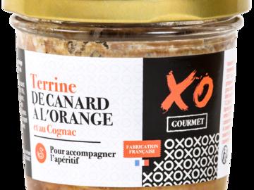 Vente avec paiement en ligne: Terrine de Canard à l'Orange et au Cognac