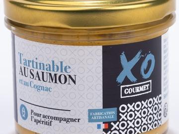 Vente avec paiement en ligne: Tartinable au Saumon et au Cognac
