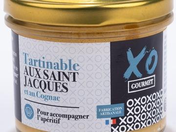 Vente avec paiement en ligne: Tartinable aux Saint-Jacques et au Cognac