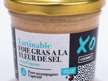 Vente avec paiement en ligne: Tartinable Foie Gras de Canard à la Fleur de Sel et au Cognac