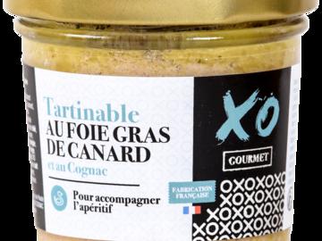 Vente avec paiement en ligne: Tartinable Foie Gras de Canard au Cognac