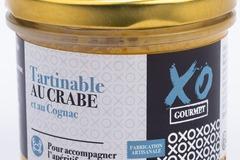 Vente avec paiement en ligne: Tartinable au Crabe et au Cognac