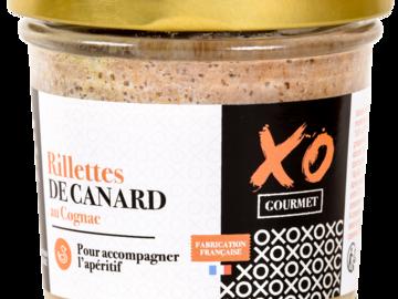 Vente avec paiement en ligne: Rillettes de Canard au Cognac