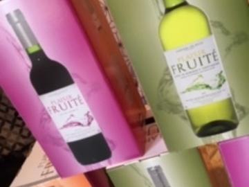 """Vente avec paiement en direct: PROMOTION Coffret """"Plaisir Fruité"""" 4 bouteilles"""