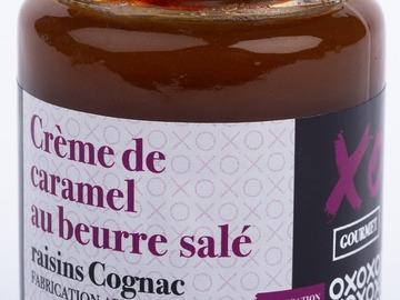 Vente avec paiement en ligne: Crème de Caramel au beurre salé Raisins Cognac