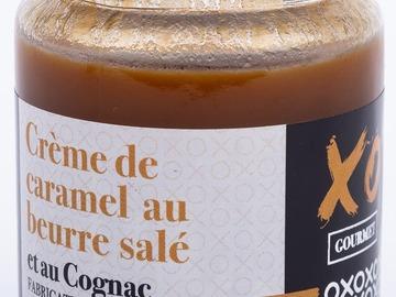 Vente avec paiement en ligne: Crème de Caramel au beurre salé et au Cognac